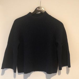 Joie Navy Cashmere Blend Sweater Size XS